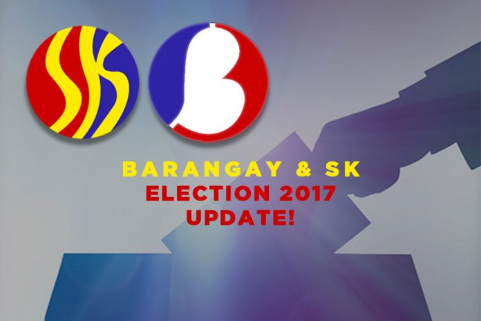 barangay election 2017 and sk election 2017