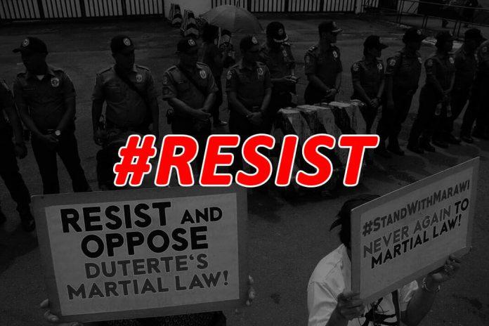 Resist Martial Law