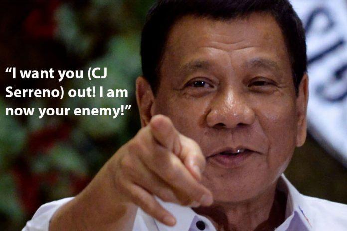 Duterte vs Sereno